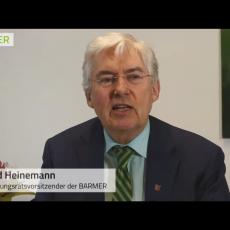 Bernd Heinemann zur sektorenübergreifenden Versorgung