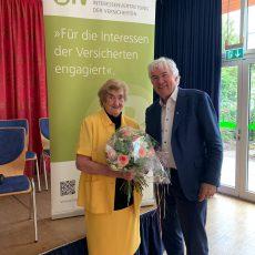 Hannelore Löhr wird zweites Ehrenmitglied
